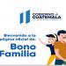 Pago del bono familia, programa de ayuda en Guatemala para los afectados por la pandemia